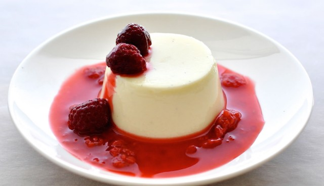 pannacotta-Yogurt Pannacotta